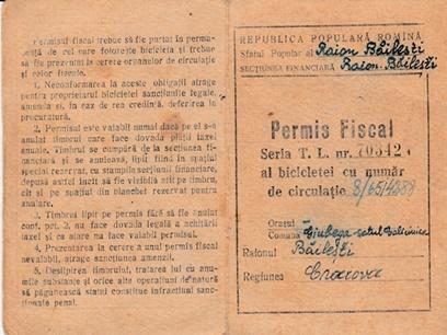 Permis Fiscal 1957