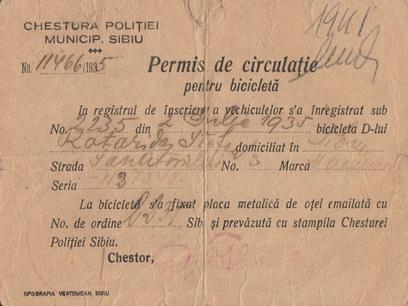 Permis 1935