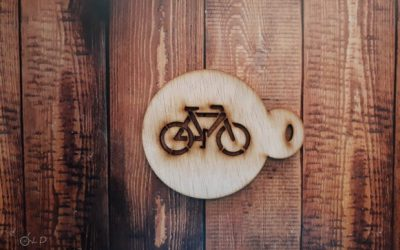 Bicycle Sign Stencil